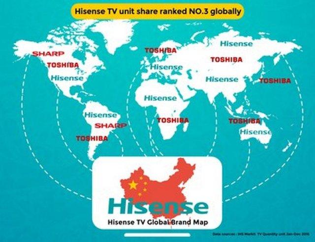 hisense+toshiba global