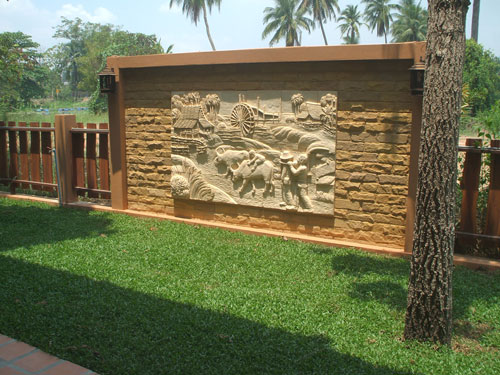 Wall And Fence Design Construction In Thailand Thai