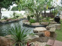 Waterfall Garden & Features - Thai Garden Design