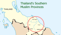 Thailand's three southern-most provinces