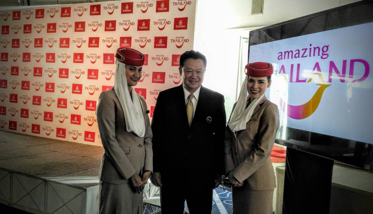 Emirates teams up with TAT to give boost to Thailand tourism