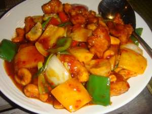 Sweet and Sour Pork with Pineapple Thailand
