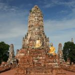 Their Majesties the King and Queen visit Ayutthaya
