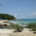 Koh Samet Island closes beach to clean up oil spill