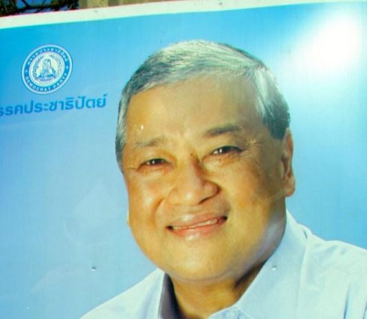 Bangkok governor Sukhumbhand Paribatra
