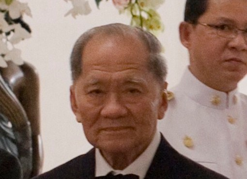 Thanin Kraivichien, former Prime Minister and President of the Privy Council of Thailand
