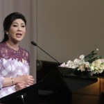 Thai PM Yingluck attending 22nd ASEAN Summit in Brunei