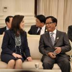 Thai PM Yingluck reaffirms Thailand as Japan's strong economic partner