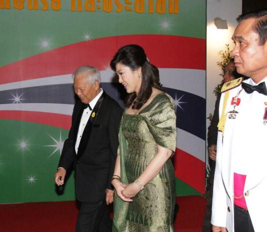 Yingluck Shinawatra and General Prayut Chan-ocha