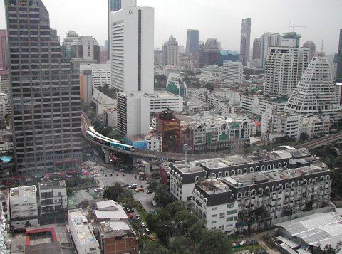 Cityscape of Bangkok