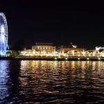 boat ride to asiatique night market
