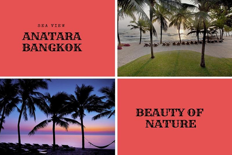 Anantara Bangkok Sea Side View Image
