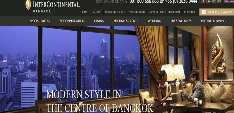 inter continental bangkok Image