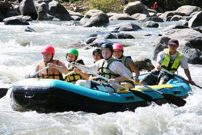 Whitewater Rafting Thailand Image