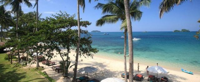 Thailand beaches in non peak season