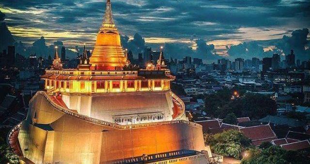 Wat Saket- The Temple of the Golden Mount