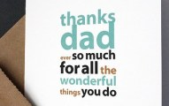 Thank you image for father
