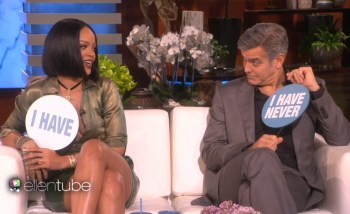 """Rihanna Plays a Game of """"Never Have I Ever"""" on 'Ellen'"""