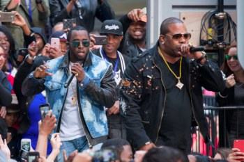Puff Daddy & The Family Reunite On The 'TODAY' Show