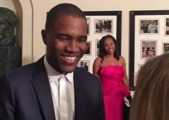 Frank Ocean's First Interview in 3 Years Happened at The White House