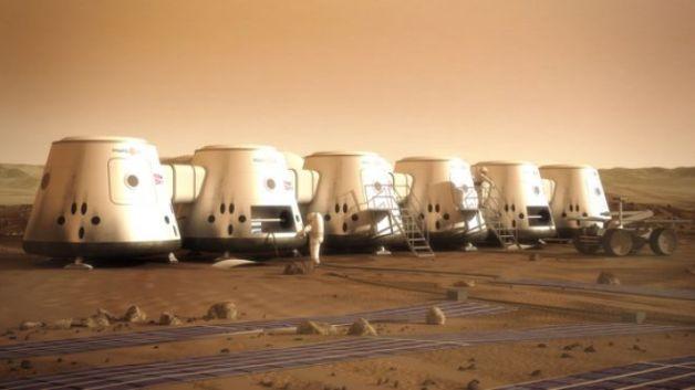 مشروع الحياة على المريخ