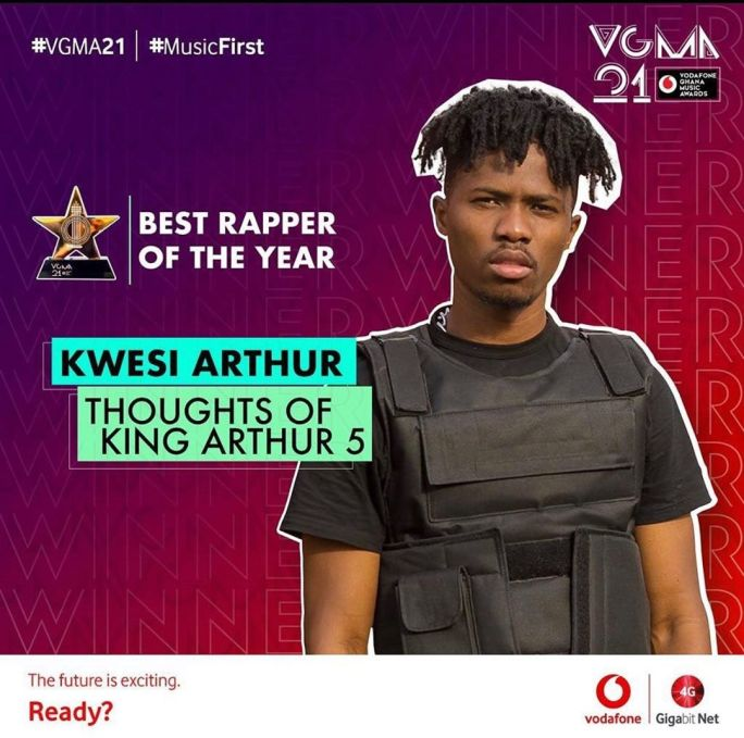 2020 VGMA Best Rapper Of The Year