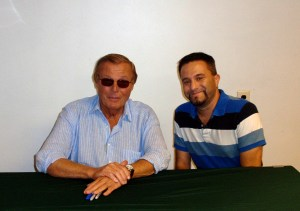 Dustin and Adam West
