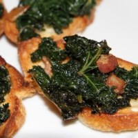 Kale Crostini