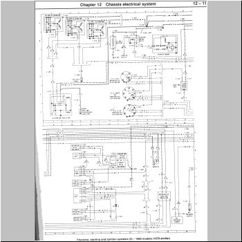 FORD 50 EFI  MUSTANG ELECTRICAL DIAGRAMS CHARGING SYSTEM