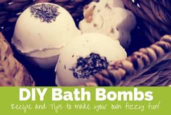 Lovely DIY Bath Bombs are fun and super easy to make
