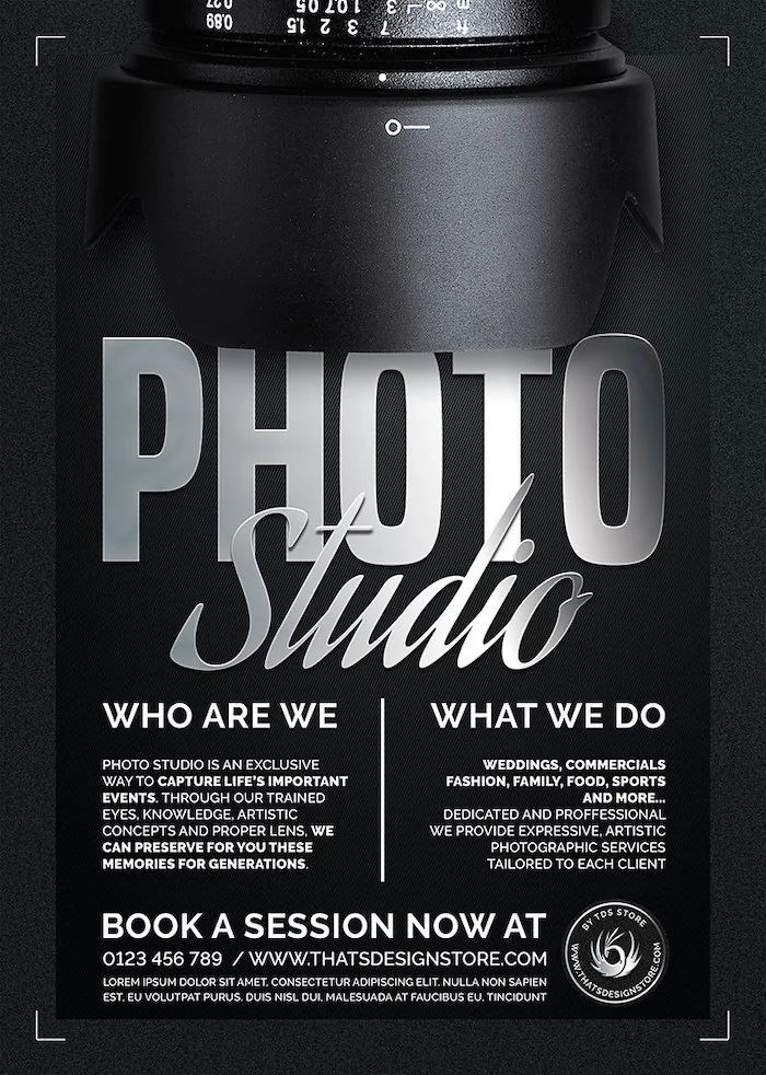 design a flyer free template