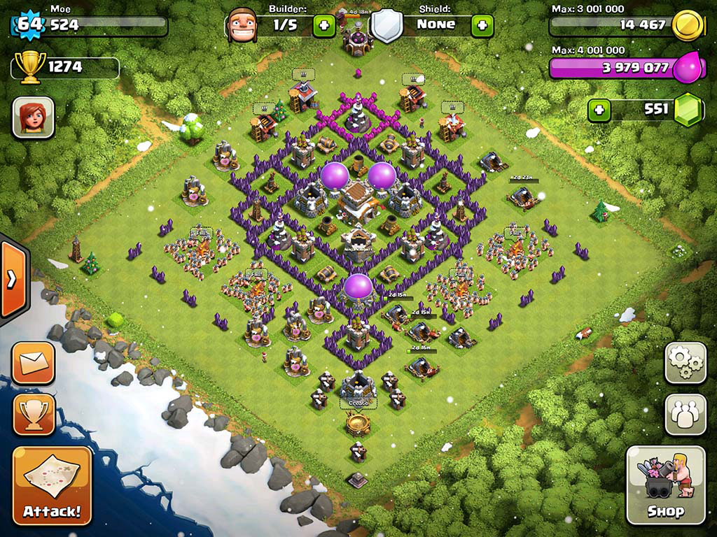 Pics Photos - Best Town Hall Level 8 Defense Clash Of Clans Youtube