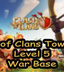 Clash of Clans Town Hall Level 5 Defense – TH5 War Base