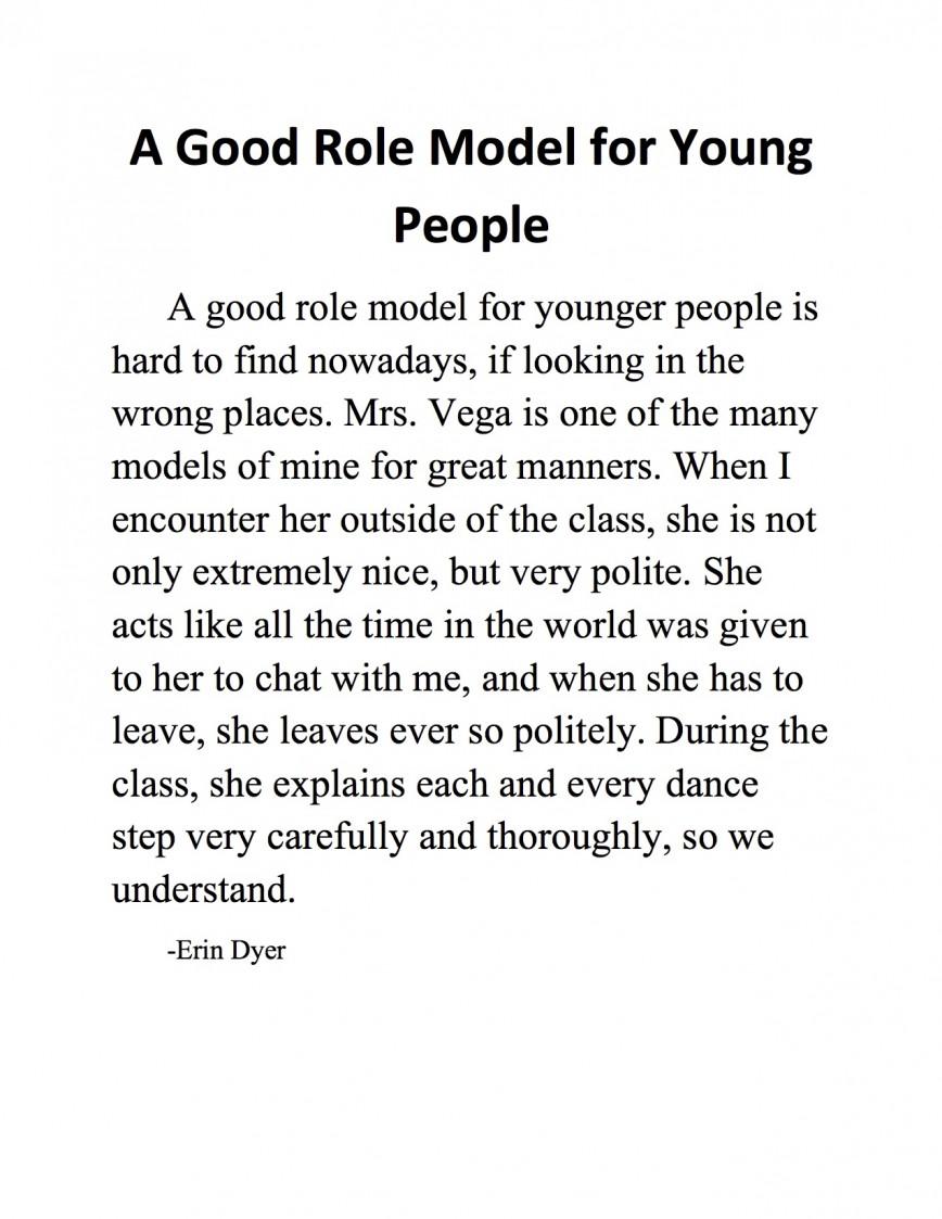 role models essay