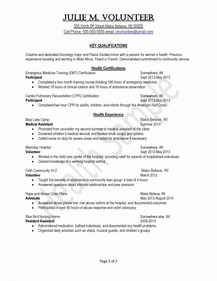 022 Volunteer Experience Essay Example Adding Work To Resume