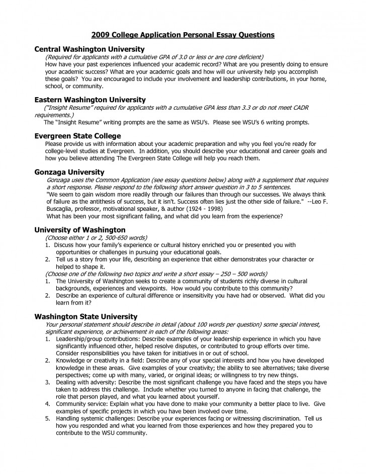 001 College Essay Questions Example Prompts Writings And Essays