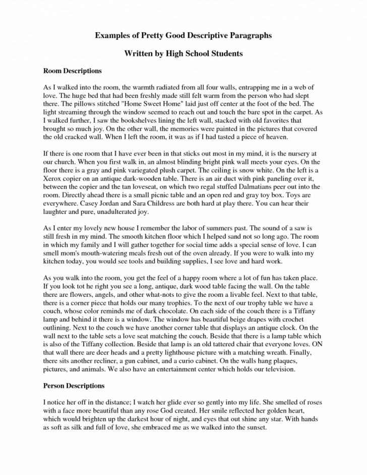 006 Example Of Descriptive Essay About The Ocean Essays Beach