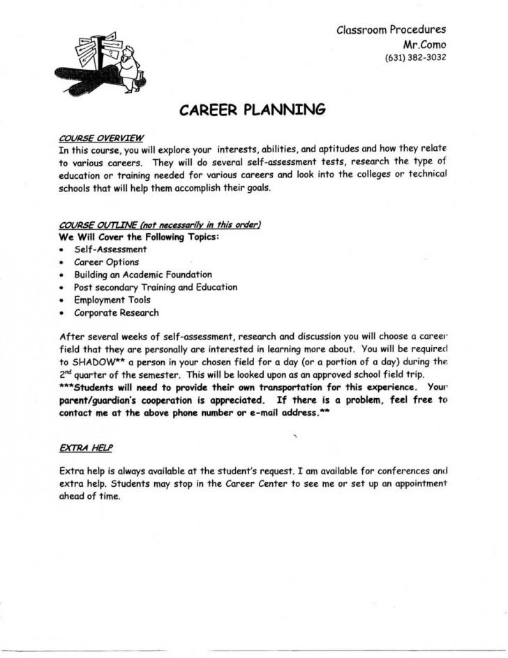 006 Future Plan Essay Plans Career After Graduation College
