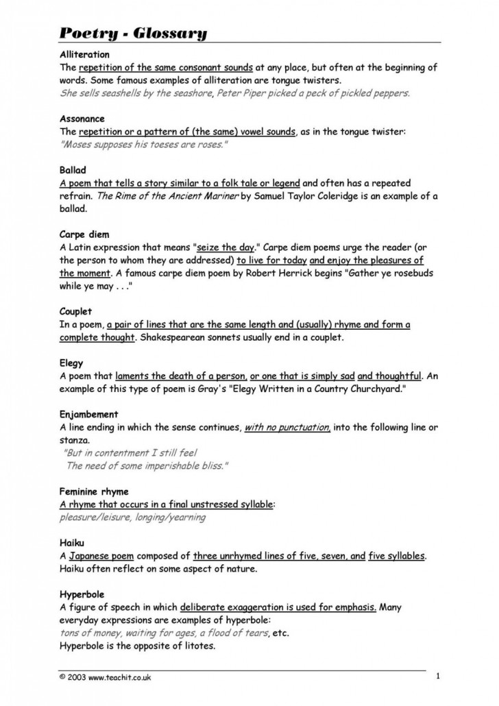 008 Explication Essay Example Poetry Character Analysis Pdf