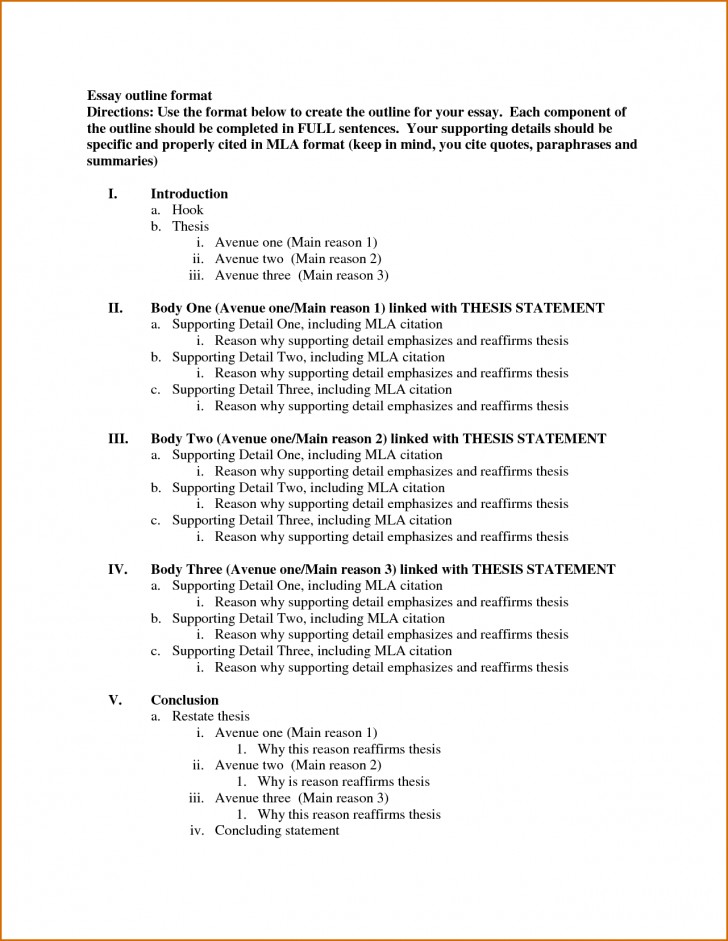010 Essay Format Template Example Research Paper Outline ~ Thatsnotus