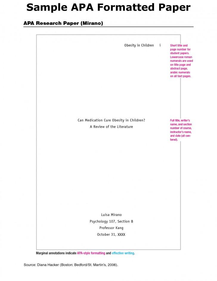 001 Apa Format Example Essay ~ Thatsnotus