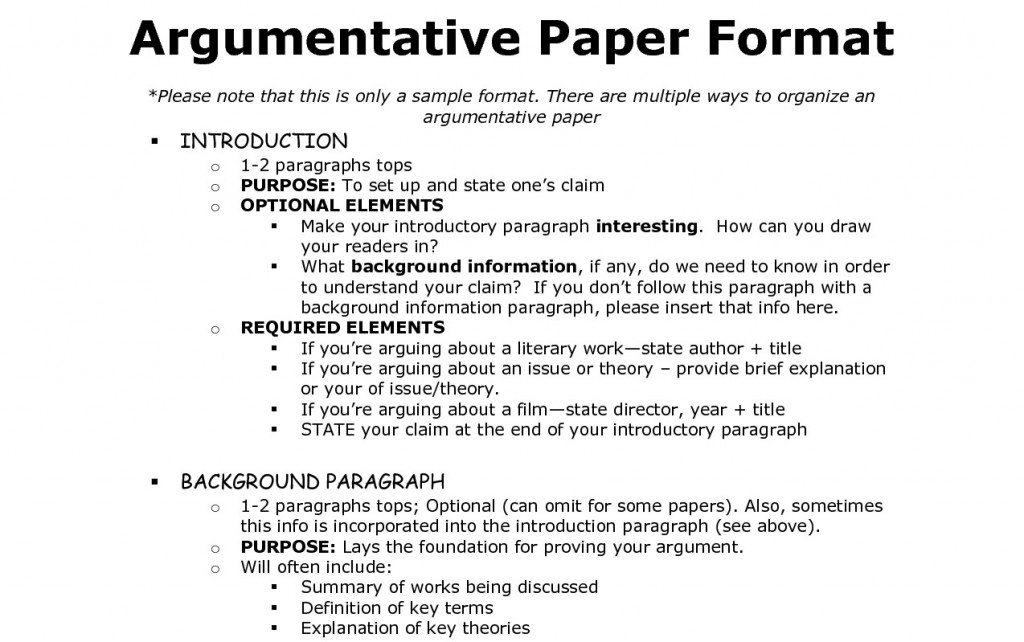 014 Argument Essay Introduction Example Sample Rubric The Primitive