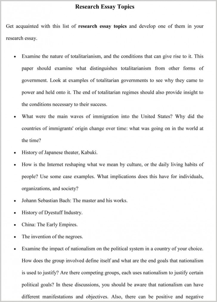 008 Political Argumentative Essay Topics Proposal Example Thesis