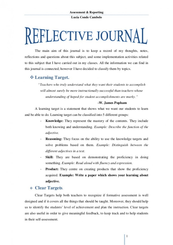 020 14169915 F1024 How To Write Reflection Essay ~ Thatsnotus