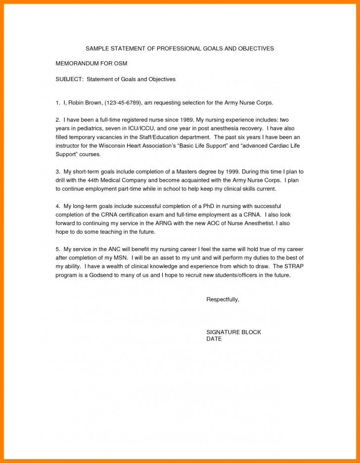 019 Essay Example Short Term And Long Goals Career Statement Nursing