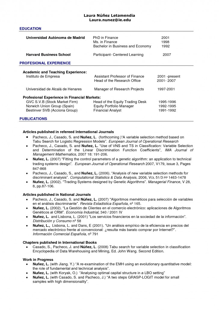 020 Harvard Business School Essay Example Cosy Mba Resume Format For