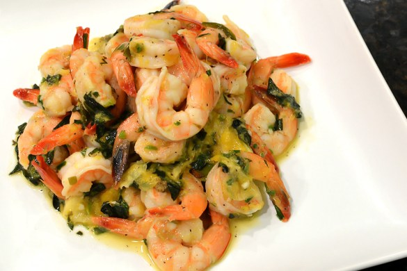 Shrimp with Citrus-Herb Sauce from thatsquareplate.com AMAZING!