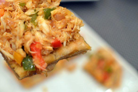 Open-faced Crab Empanadas |That Square Plate
