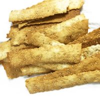 Sesame Seed Crackers