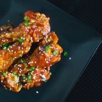 Korean Baked Chicken Wings